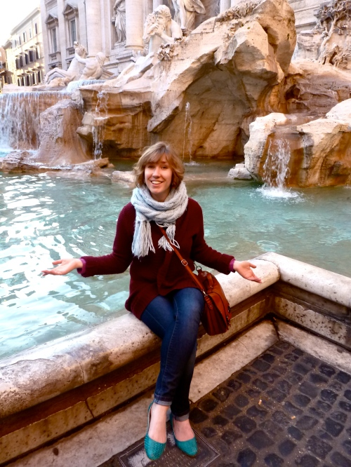 Me at the Trevi