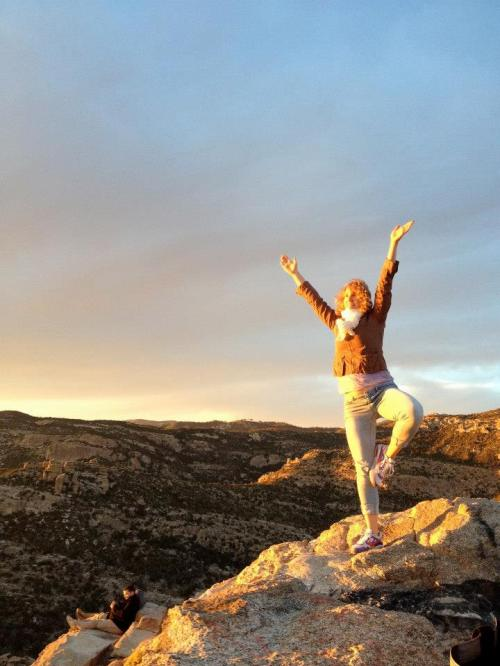 Tree Pose at Windy Point